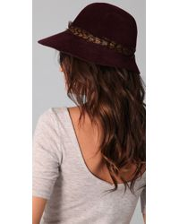 Eugenia Kim | Red Carly Boho Cloche Hat | Lyst