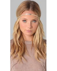 House of Harlow 1960 | Metallic Evil Eye Head Piece | Lyst