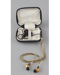Juicy Couture - Black Earbuds in Case - Lyst
