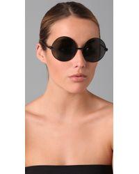 Karen Walker - Black Von Trapp Sunglasses - Lyst