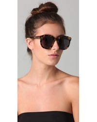 Karen Walker - Multicolor Super Duper Strength Sunglasses Crazy Tort - Lyst