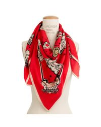 Madewell | Red City Storyteller Scarf | Lyst
