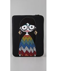 Marc By Marc Jacobs - Black Miss Marc 13 Computer Case - Lyst