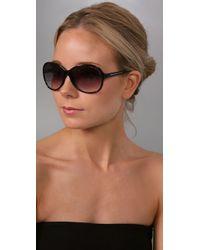 Marc By Marc Jacobs - Black Tonal Sunglasses - Lyst