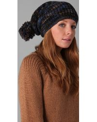 Marc By Marc Jacobs - Blue Tito Hand Knit Hat - Lyst