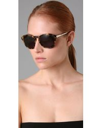 Marc By Marc Jacobs - Brown Round Sunglasses - Lyst