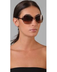 Tom Ford | Pink Eugenia Sunglasses | Lyst