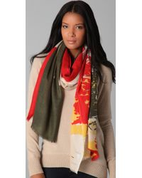 We Are Owls | Red Lovers in The Afterlife Scarf | Lyst