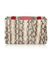 Anya Hindmarch - White Stripy Gracie Mini Shoulder Bag - Lyst