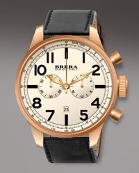 Brera Orologi | Black Classico Chronograph Watch for Men | Lyst