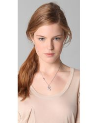 Juicy Couture - Metallic Cherry Necklace - Lyst
