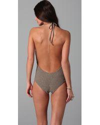Tori Praver Swimwear | Gray Kelly One Piece | Lyst
