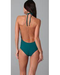 Tori Praver Swimwear - Blue Kelly One Piece - Lyst