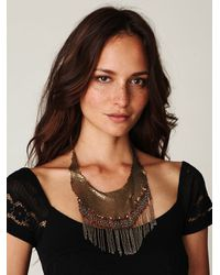 Free People - Green Womens Talia Collar - Lyst