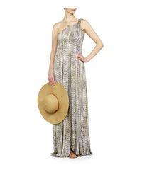 Melissa Odabash | Metallic Savannah Dress | Lyst