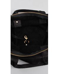 Clare V.   Black Messenger Bag   Lyst