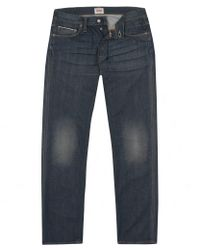 Edwin | Blue Ed-67 Grey Dry Coated Jeans for Men | Lyst