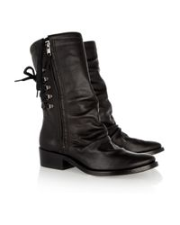 Georgina Goodman | Black Billy Leather Calf Boots | Lyst