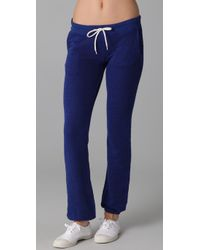 Monrow - Purple French Terry Sweats - Lyst
