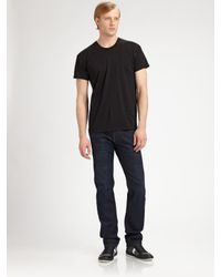 Dior Homme | Black Short Sleeve T-Shirt for Men | Lyst