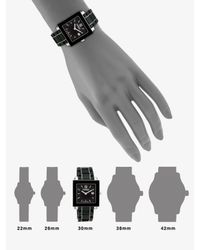 Fendi - Ceramic Square Watch/black - Lyst