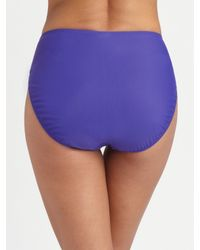 Gottex | Black Beach Goddess Halter Bikini Top | Lyst