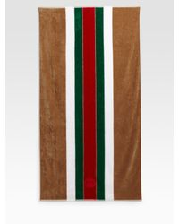 Gucci | Brown Beach Towel | Lyst