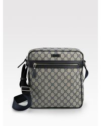 Gucci | Natural Messenger Bag for Men | Lyst
