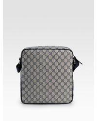 Gucci - Natural Messenger Bag for Men - Lyst