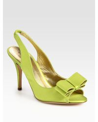 kate spade new york - Green High Heel Shoes - Lyst