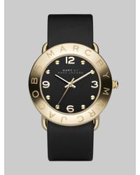 Marc By Marc Jacobs | Black Amy Watch | Lyst