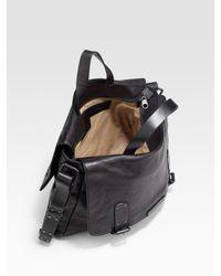 Marc By Marc Jacobs - Black Robbie G Leather Messenger Bag for Men - Lyst