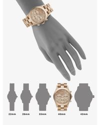 Marc By Marc Jacobs | Metallic Gold Ion-plated Chronograph Watch | Lyst