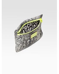 Marc By Marc Jacobs - Gray Pretty Nylon Cosmetic Pouch - Lyst