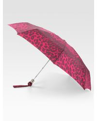 Marc By Marc Jacobs | Multicolor Jungle Silk Mini Umbrella | Lyst