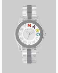 Marc By Marc Jacobs | Multicolor Rivera Logo Dial Watch | Lyst