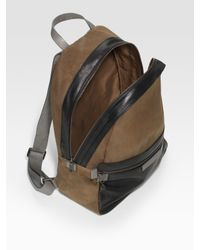 Marc By Marc Jacobs | Brown Cotton and Leather Backpack for Men | Lyst