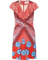 Peter Pilotto | Red Hearts Mv Dress | Lyst