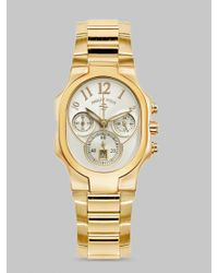 Philip Stein | Metallic Classic Chronograph Bracelet Watch | Lyst