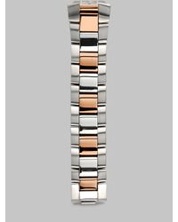 Philip Stein | Metallic 18mm Two-Tone Bracelet | Lyst