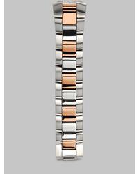 Philip Stein - Metallic 18mm Two-Tone Bracelet - Lyst