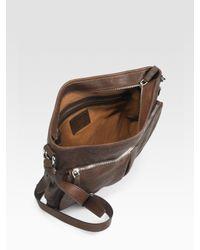 Prada | Brown Nappa Aviator Crossbody Bag for Men | Lyst