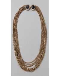 Rachel Leigh | Metallic Estates Chainmail Necklace | Lyst