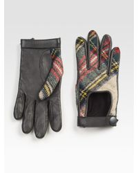 Rag & Bone | Gray The Quilted Driving Glove | Lyst