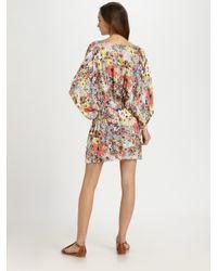 Sam & Lavi | Multicolor Soho Twill Floral Dress | Lyst