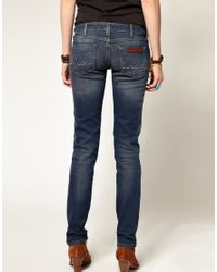 Wrangler - Blue Molly Low Rise Skinny Jeans - Lyst
