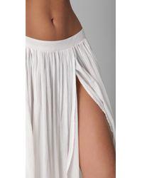 Zimmermann | White Charmer Split Skirt | Lyst