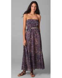 Zimmermann | Multicolor Dreamer Strapless Chain Maxi Dress | Lyst