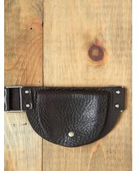 Free People | Black Cara Pocket Hip Belt | Lyst