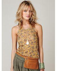 Free People | Brown Olivia Pocket Belt | Lyst